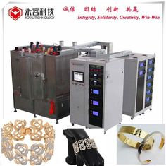 Bracelet  PVD Gold  Coating Machine, Stainles Steel Bracelet Gold Plating Equipment,  PVD Gold Plating
