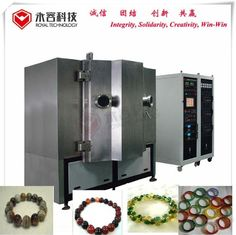 Glass Beeds Balls PVD Vacuum Metalizing Machine With ISO Certificate