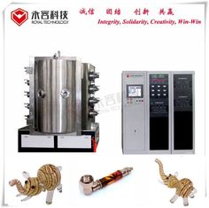 Vertical Orientation Glass Coating Machine,  PVD Glass Smoking Weed Pipes Decorative Coatings