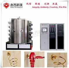PVD Chrome Vacuum Metallization Equipment to Replace Cr Electroplating,  PVD hard chrome plating machine and service