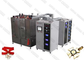 China CE Certified PVD Arc evaporation system, Zinc Alloy Product Gold Plating, Zamak PVD TiN Coating Machine supplier