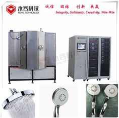 China Cathodic Arc PVD Plating Machine,  PVD ZrN Coating For Metal Showerhead supplier
