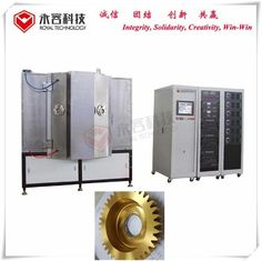 Machine Spare Parts Titanium Nitride Coating Machine With UL Certified