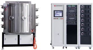 China Magnetron Sputtering PVD Vacuum Coating Machine,  IPG Blue MF sputtering machine supplier