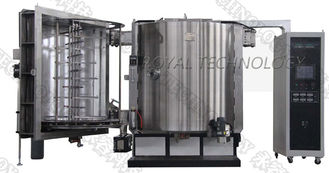 EMI Shielding Thin Film Vacuum Metallizing Equipment,  Vertical Orientation EMI PVD Coating Machine, Copper Evaporation