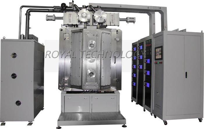Arc Ion DLC PVD Vacuum Coating Machine Fast Deposition Robust Design